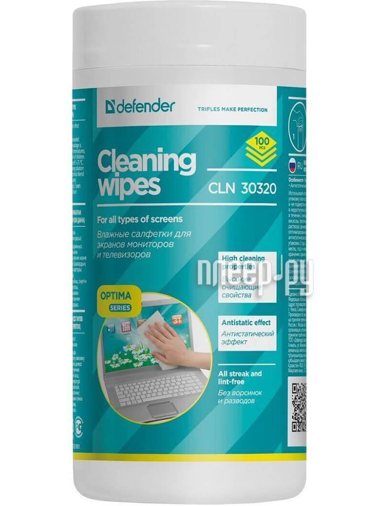 Салфетки чистящие Defender Eco CLN 30320[Перейти в каталог этих товаров]