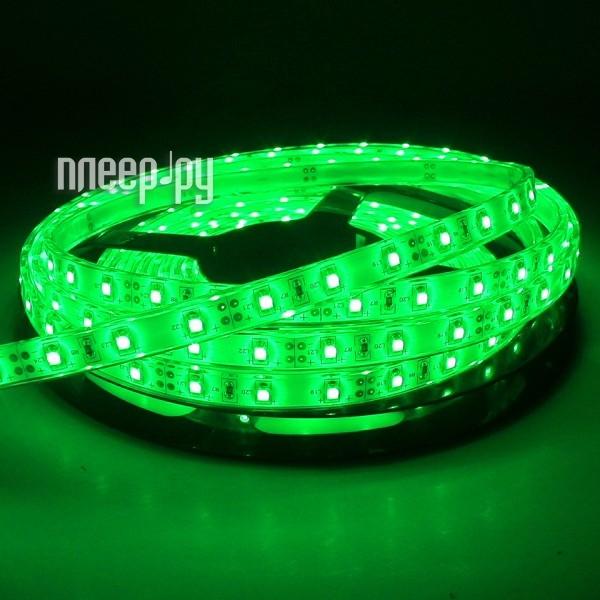 Светодиодная лента Neon-Night SMD 3528 60led/m 12V 24W 5m IP65 Green 141-354-0
