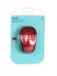 Фото Logitech Wireless Mouse M235 Red 910-002497 / 910-002496