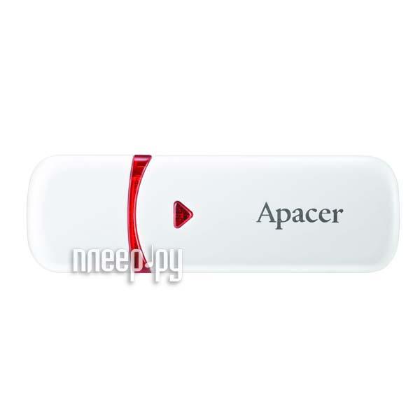 USB Flash Drive 16Gb - Apacer AH333 White AP16GAH333W-1[Перейти в каталог этих товаров]