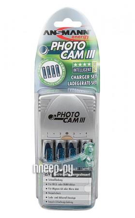 Зарядное устройство Ansmann PhotoCam III + 4 ак. AA 2850 mAh 5007093