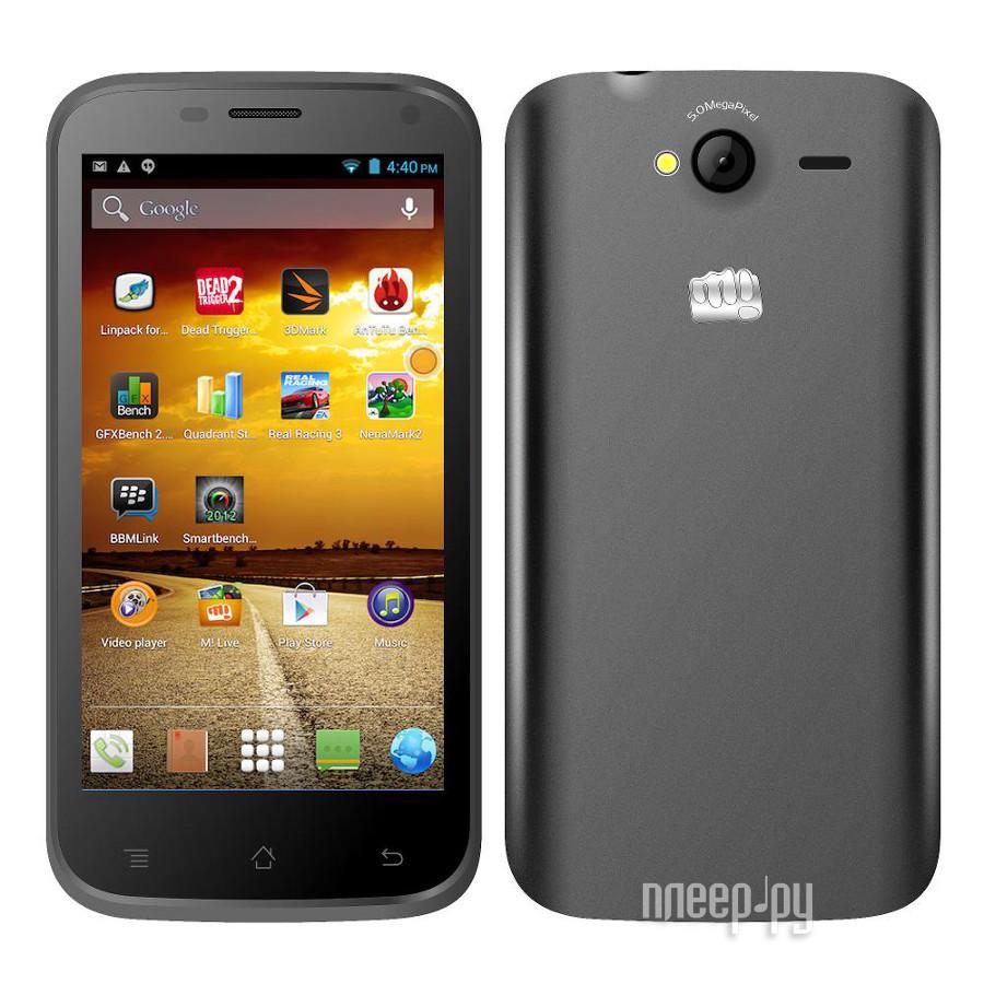 Сотовый телефон Micromax A82 Grey