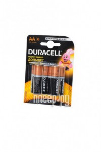Фото AA - Duracell LR6 BL6 (6 штук)