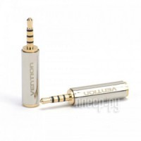 Фото Vention 3.5 Jack F - 2.5mm Jack M Silver VAB-S02
