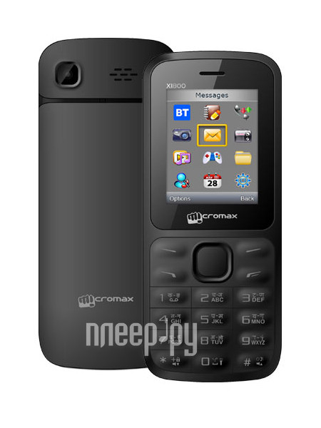 Сотовый телефон Micromax X1800 Joy Black