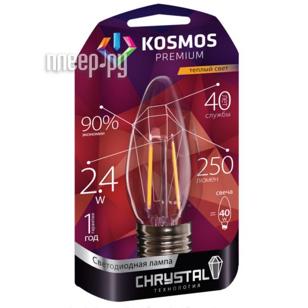 Лампочка Космос Premium Золотая Нить KLED2.4wCNE2727GF