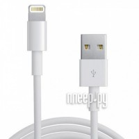 Фото Gembird Cablexpert USB AM для iPhone 5/6/7/8/X/iPod/iPad 1m CC-USB-AP2MWP White