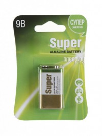 Батарейка  КРОНА GP Super Alkaline 1604А (6LF22)-BC1