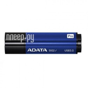 Фото 64Gb - A-Data S102 Pro USB 3.0 Blue AS102P-64G-RBL