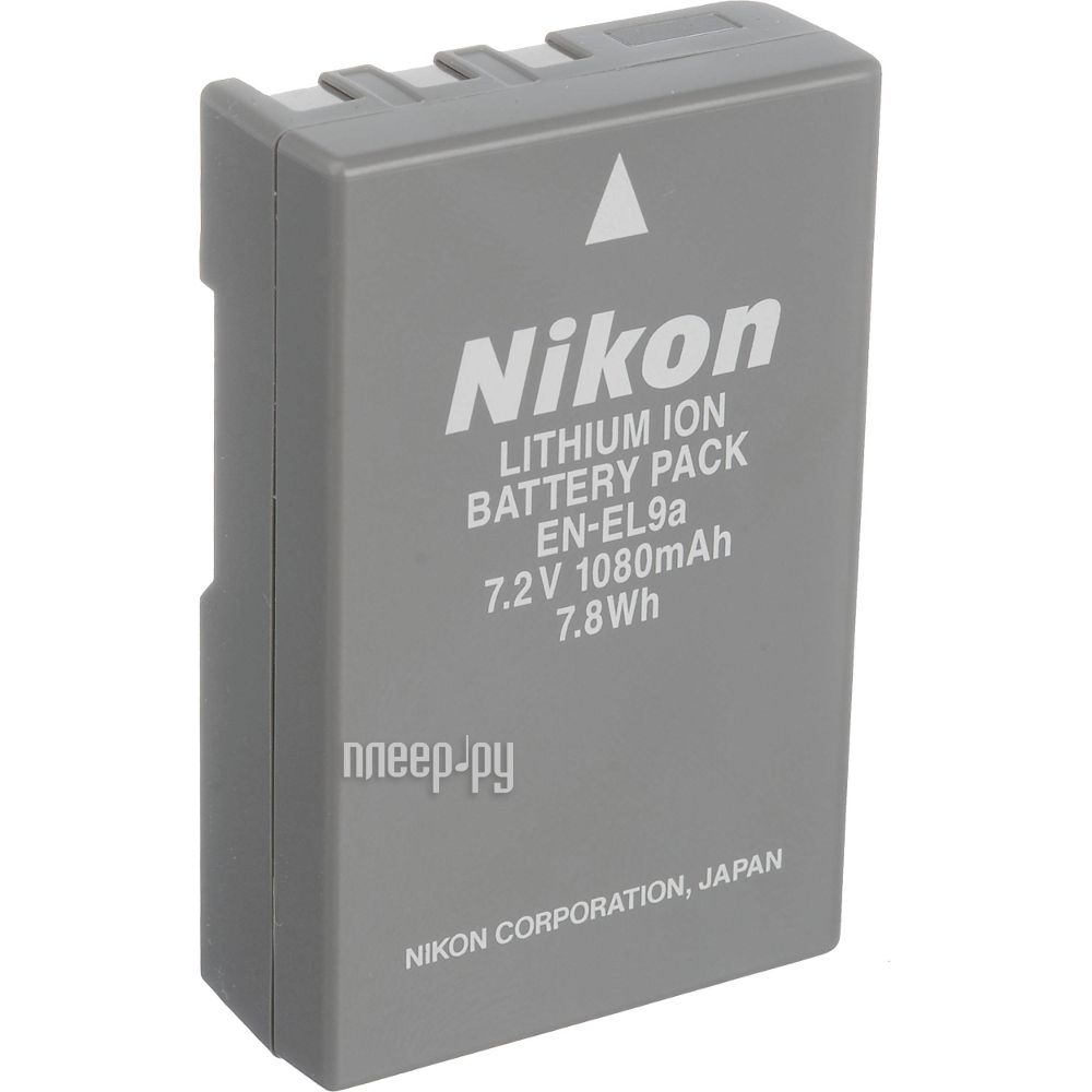 аккумулятор, БП, ЗУ для фото-видео камер Nikon EN-EL9- фотографии.