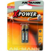 Батарейка AAAA - Ansmann X-Power LR8  / 25A 1510-0005 (2 штуки)
