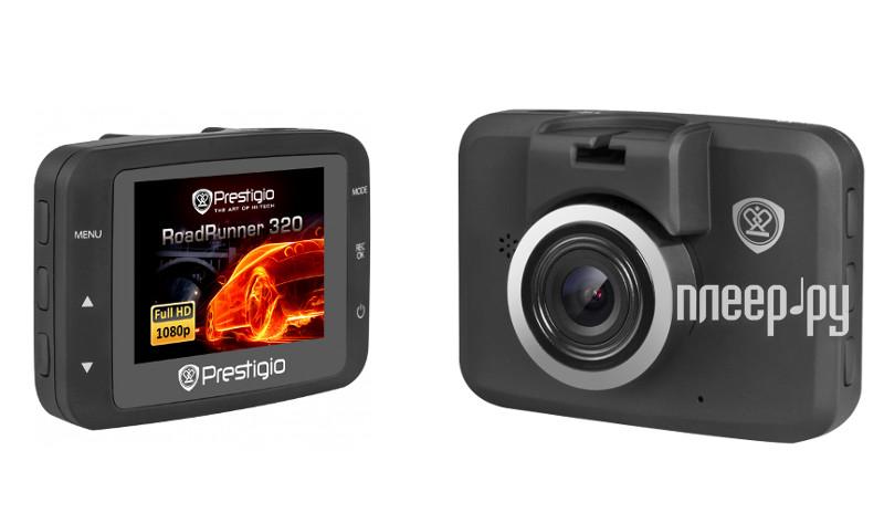 Автомобильный видеорегистратор prestigio roadrunner 320 pcdvrr320