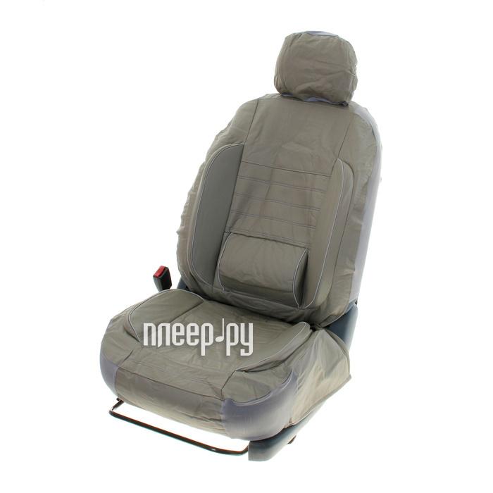 Чехол Autoprofi Comfort Combo Dark/Light Grey CMB-1105 D.GY/L.GY M - фото 5