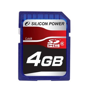 Карта памяти Silicon Power SDHC 16GB Class 6.