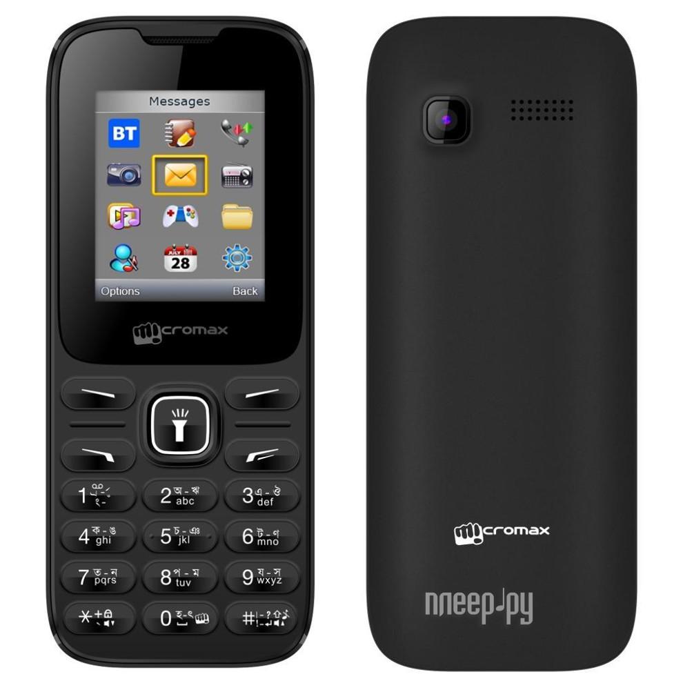 Сотовый телефон Micromax X401 Black