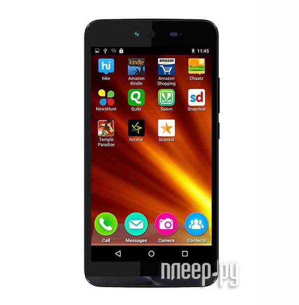 Сотовый телефон Micromax Q338 Canvas Magnus 2 Black