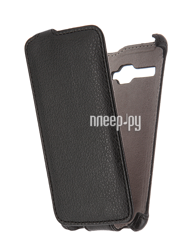 Чехол Fly FS401 Stratus 1 Activ Flip Case Leather Violet 52680