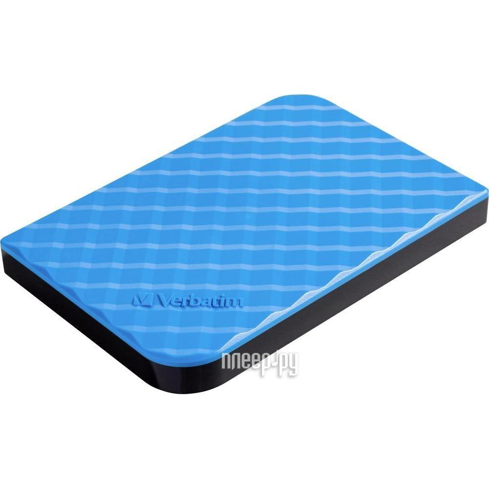 Жесткий диск Verbatim Store n Go New 1000Gb USB 3.0 Blue 53200[Перейти в каталог этих товаров]
