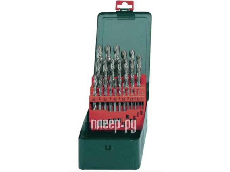 Сверло Metabo HSS-G по металлу 25шт 627154000 - фото 2
