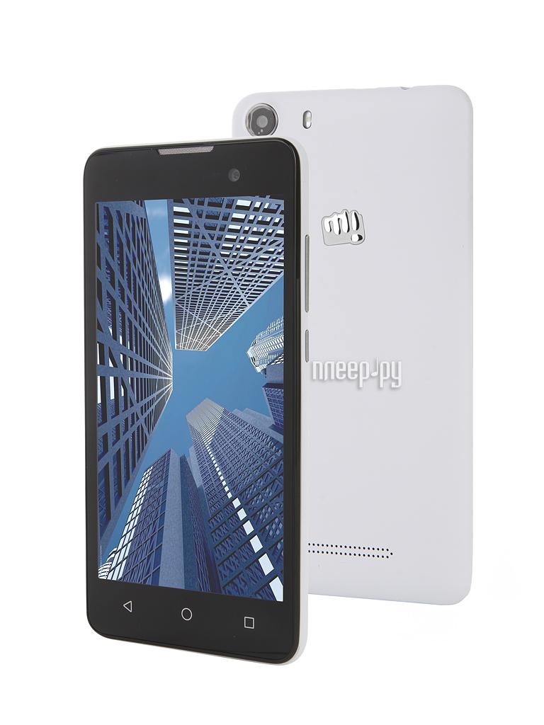 Сотовый телефон Micromax Q334 Canvas Magnus White