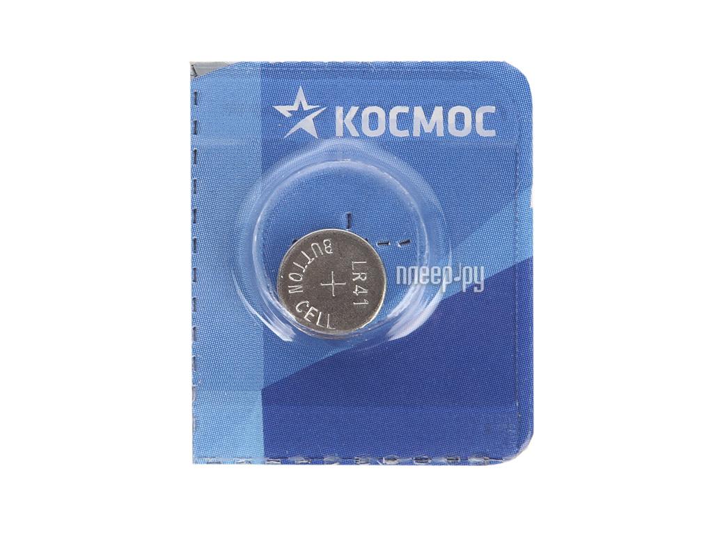Батарейка AG3 - Космос KOCG3 (LR41) (1 штука)