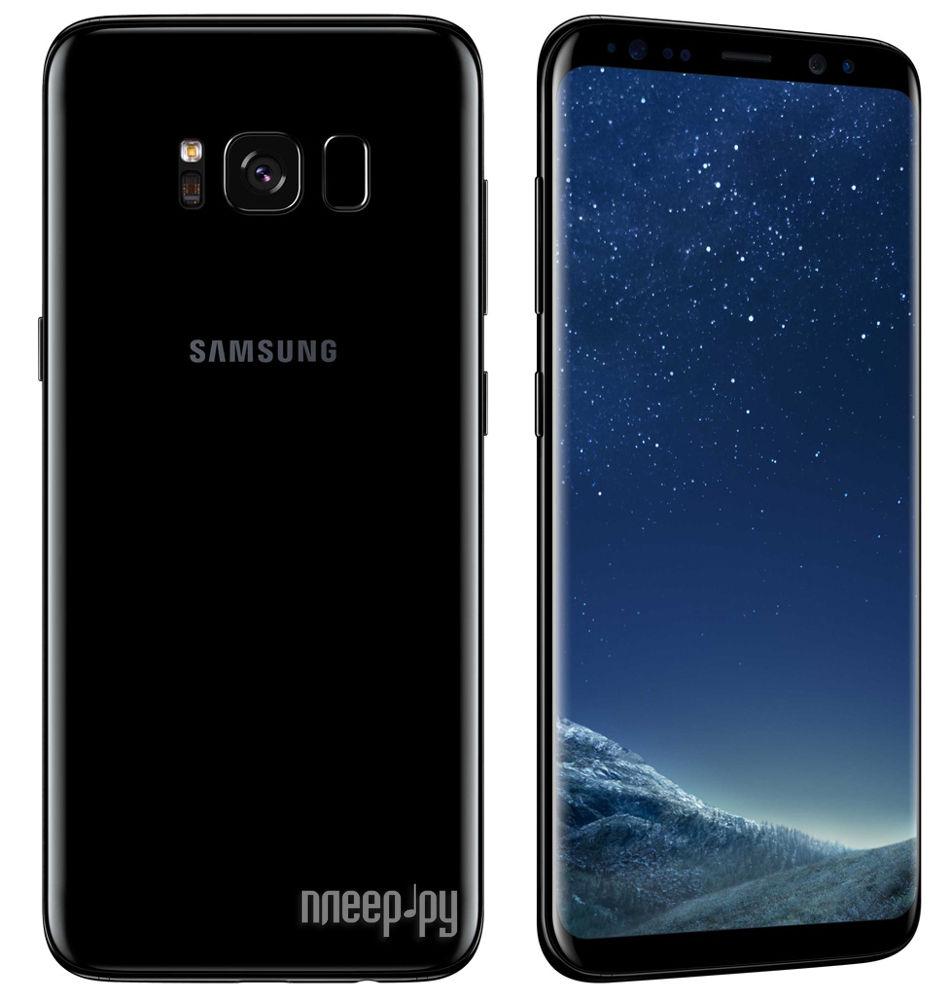 Купить Samsung SM-G950FD Galaxy S8 64Gb Black по низкой цене в Москве caa40cb5817f5