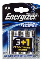 Фото AA - Energizer Ultimate Lithium L91 FR6 (4 штуки) 639155 / 20526