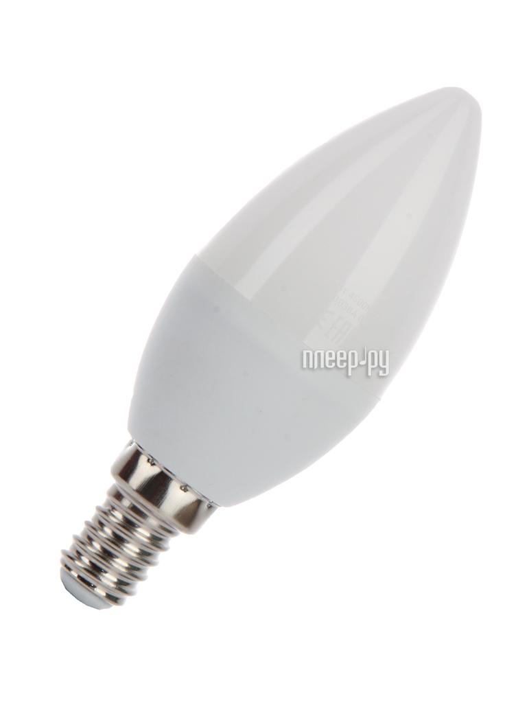 Лампочка Космос Экономик LED CN 5.5W 220V E14 4500K LkecLED5.5wCNE1445
