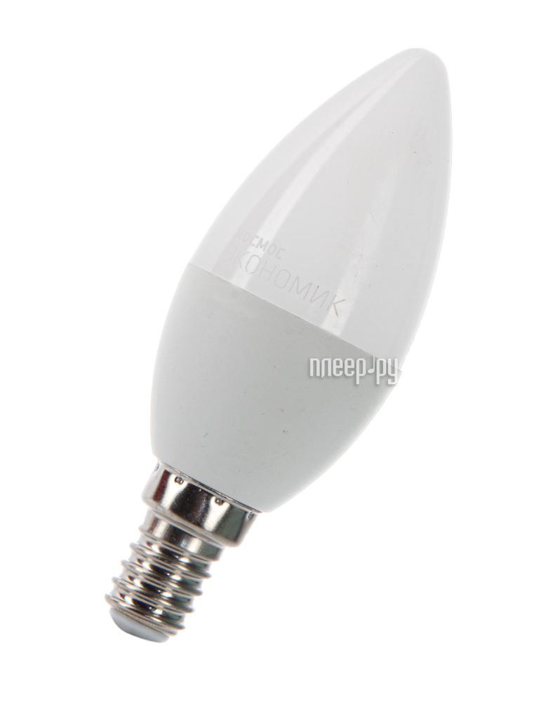 Лампочка Космос Экономик LED CN 7.5W 220V E14 3000K LkecLED7.5wCNE1430