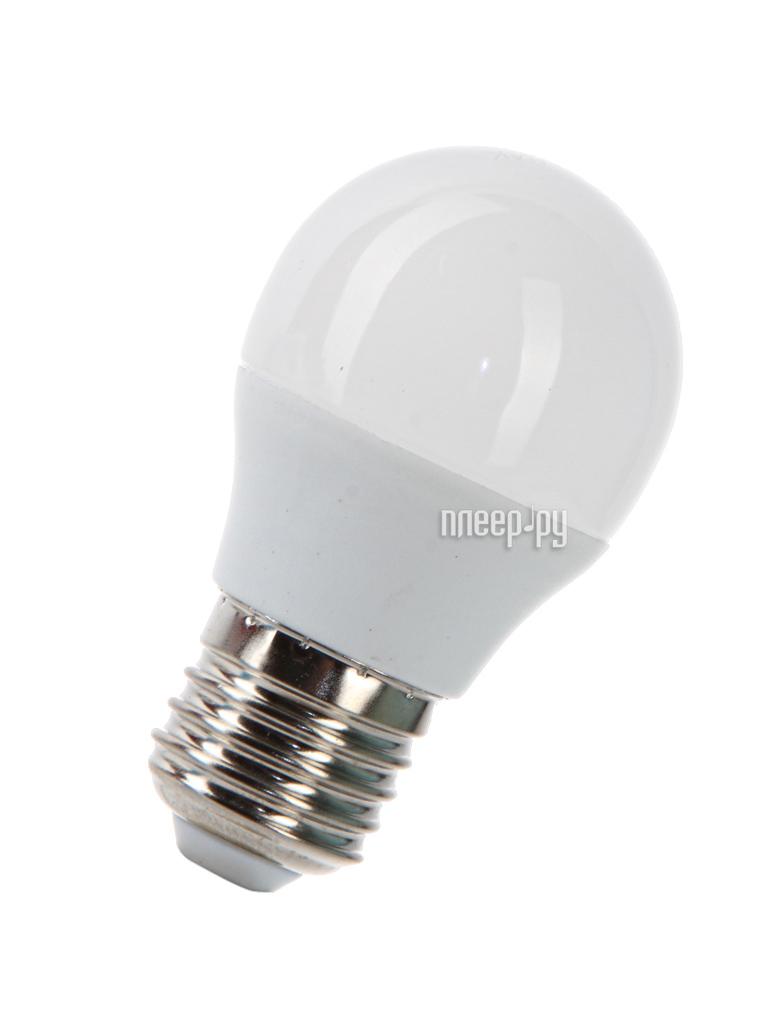 Лампочка Космос Экономик LED GL45 6.5W 220V E27 4500K LkecLED6.5wGL45E2745