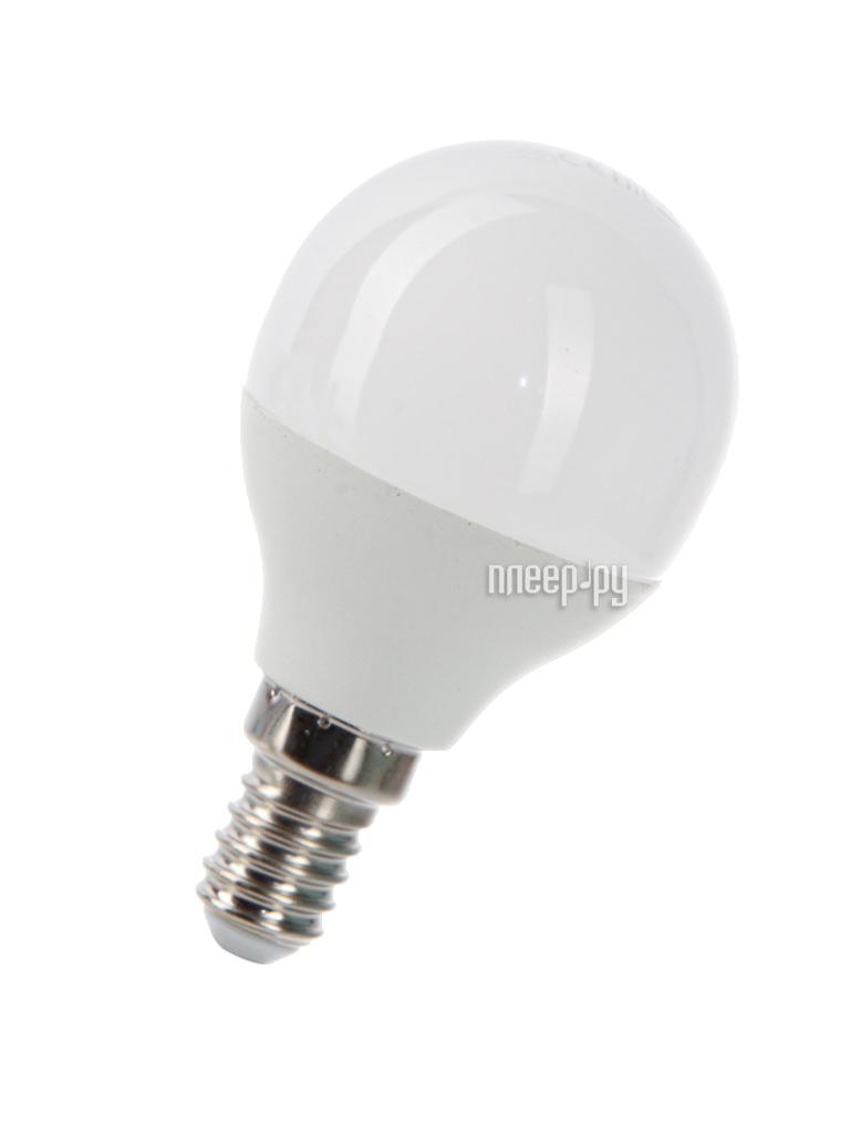 Лампочка Космос Экономик LED GL45 7.5W 220V E14 3000K LkecLED7.5wGL45E1430
