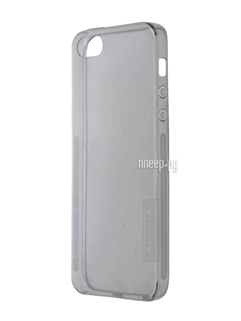 Аксессуар Чехол-накладка Nillkin Nature TPU Case для iPhone 5   5S   SE  Transparent 832d98d0fe198