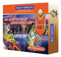 Конструктор Магникон Мастер MK-46 Карусель