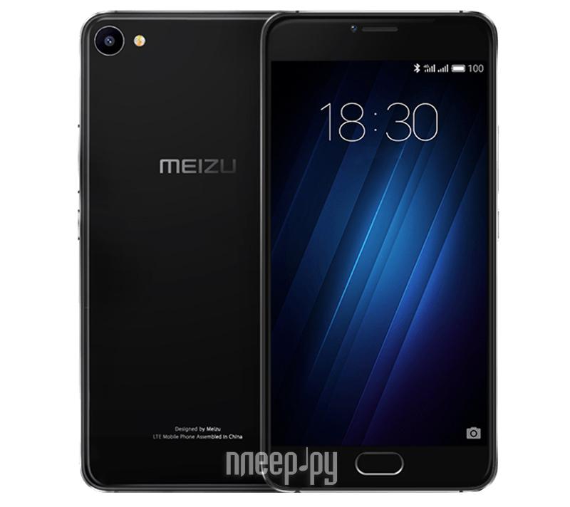 ad09a9cb4d6d Купить Meizu U10 16Gb Black по низкой цене в Москве