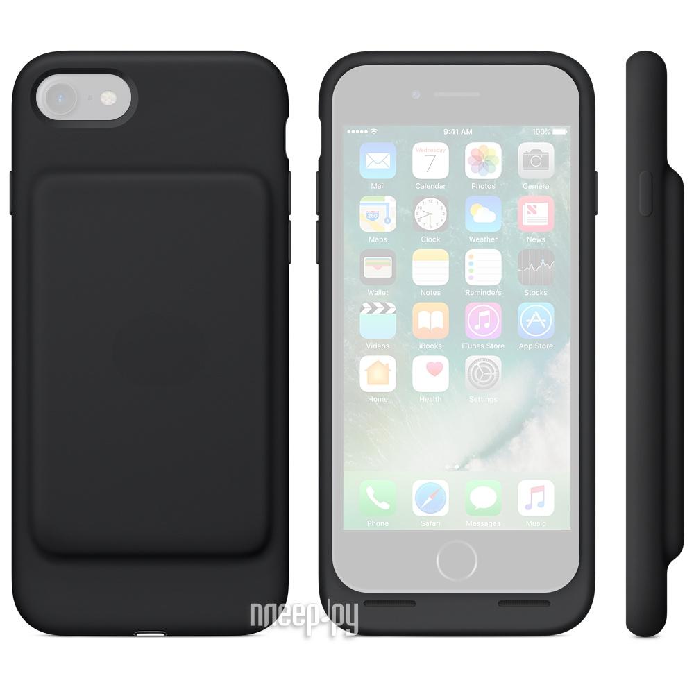 9d5b6c2347 Аксессуар Чехол-аккумулятор APPLE iPhone 7 Smart Battery Case Black  MN002ZM/A