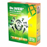 Фото Dr.Web Security Space 2 ПК/2 года BHW-B-24M-2-A3