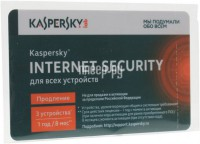 Фото Kaspersky Internet Security Multi-Device Russian Edition 3-Device 1 year Renewal Card KL1941ROCFR