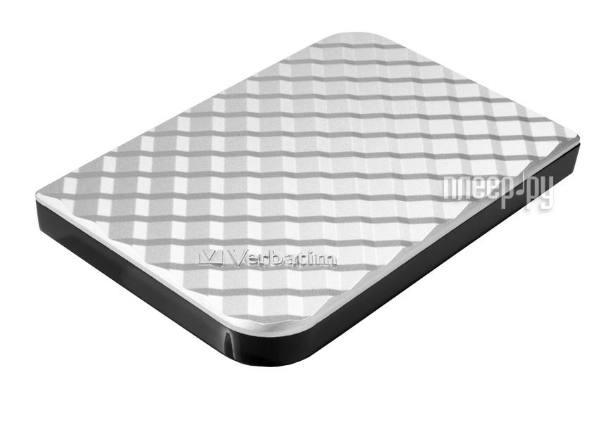 Жесткий диск Verbatim 1Tb USB 3.0 Silver 53197