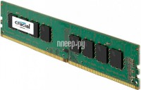 Фото Crucial DDR4 DIMM 2400MHz PC4-19200 CL17 - 16Gb CT16G4DFD824A
