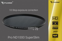 Светофильтр Fujimi Pro ND1000 SuperSlim 1000x 77mm 1370