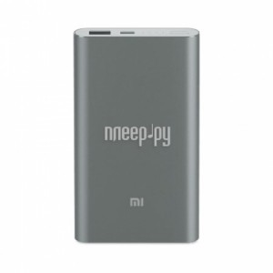 Фото Xiaomi Mi Power Bank Pro 10000mAh Type-C Grey PLM03ZM