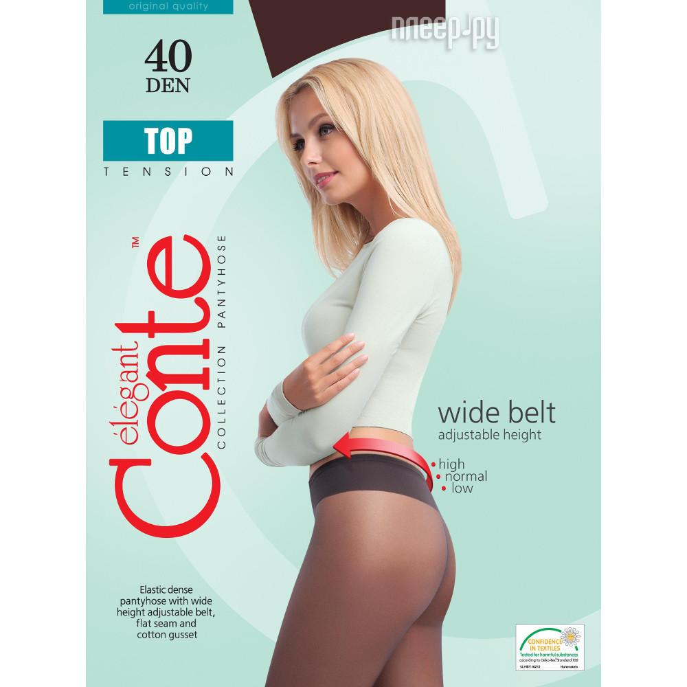 Колготки Conte Top размер 3 плотность 40 Den Bronzo