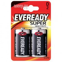 Фото D - Energizer Eveready Super R20 Ni-MH (2 штуки) E301155800 / 11645