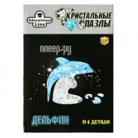 3D-пазл Город игр 3D Crystal Puzzle Дельфин XL HJ031147