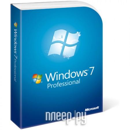 Microsoft Windows Microsoft Windows Professional 7 Russian DVD FQC-00265.