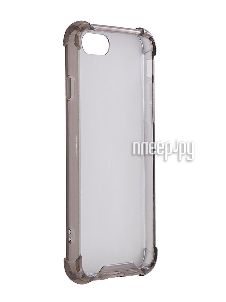 Аксессуар Чехол iBox Blaze Silicone для APPLE iPhone X Golden frame