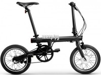 электровелосипед Mijia Xiaomi QiCycle Folding Electric Bike Black