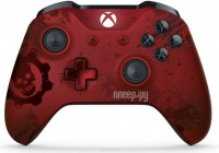 Геймпад Microsoft XBOX One Wireless Controller Gears of War 4 Crimson Omen Limited Edition Red WL3-00003