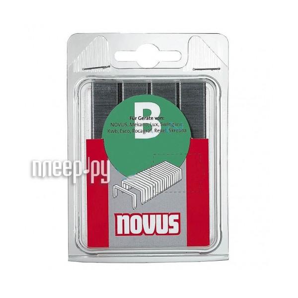 Скобы Novus 37/6S 5000шт 042-0535 - фото 2