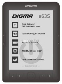 Фото Digma E63S Dark Gray